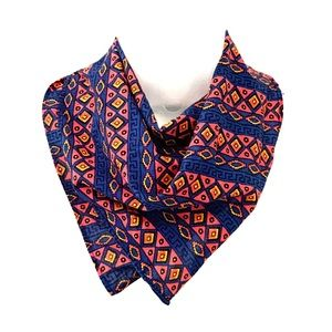 Colorful patterned bandana